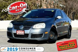 Used 2008 Volkswagen Jetta 2.5L Trendline AUTO LEATHER SUNROOF A/C  HTD SEATS for sale in Ottawa, ON