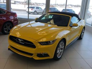 Used 2015 Ford Mustang GT Premium 50th Anniversary Convertible for sale in St. George Brant, ON