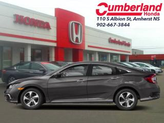 New 2019 Honda Civic Sedan LX 6MT  - Heated Seats for sale in Amherst, NS
