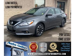 Used 2018 Nissan Altima 2.5 SV *Htd Seats/Roof/Bluetooth/B.Cam for sale in Winnipeg, MB