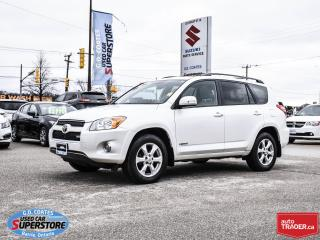Used 2010 Toyota RAV4 Limited AWD ~3.5L V6 ~Leather ~Power Moonroof for sale in Barrie, ON