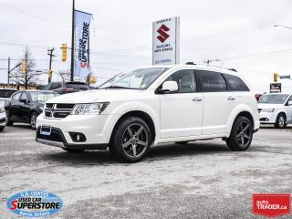 Used 2011 Dodge Journey R/T AWD ~7 Passenger ~Nav ~DVD ~Heated Leather for sale in Barrie, ON
