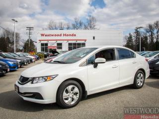 Used 2015 Honda Civic LX for sale in Port Moody, BC