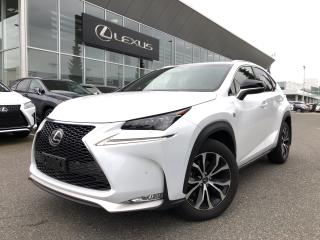 Used 2017 Lexus NX 200t 6A F Sport 2 PKG, Certified, NO Accidents, Local for sale in North Vancouver, BC