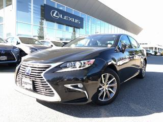 Used 2016 Lexus ES 300 h CVT Executive PKG, Local, 1 Owner for sale in North Vancouver, BC