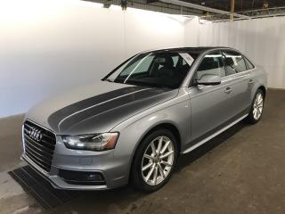 Used 2015 Audi A4 TFSI Progressiv + S Line, Navigation, Camera, Original for sale in Toronto, ON