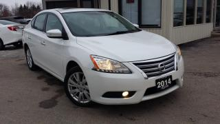 Used 2014 Nissan Sentra SL for sale in Kitchener, ON