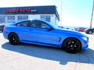 Used 2016 BMW 4 Series 435i xDrive COUPE M PERFORMANCE M Sports Package CERTIFIED for sale in Milton, ON