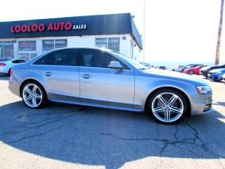 Used 2015 Audi A4 2.0T PROGRESSIV S-LINE 6SPD Manual QUATTRO NAVI CAMERA CERTIFIED for sale in Milton, ON
