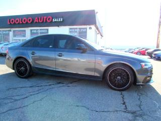 Used 2015 Audi A4 2.0T TECHNIK  S-LINE 6SPD Manual QUATTRO NAVI CAMERA CERTIFIED for sale in Milton, ON