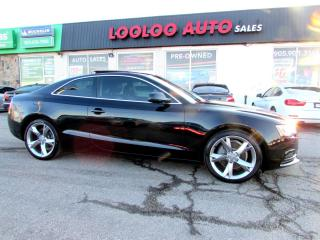 Used 2014 Audi A5 Coupe 2.0T Quattro 6 Spd Manual Bluetooth Certified 2YR Warranty for sale in Milton, ON