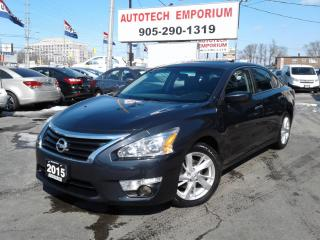 Used 2015 Nissan Altima SV Sunroof/Htd Seats/Camera/Btooth&ABS* for sale in Mississauga, ON