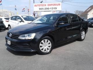 Used 2015 Volkswagen Jetta Trendline  Camera/Bluetooth All Pwr&ABS*$39/Wkly for sale in Mississauga, ON