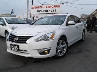 Used 2015 Nissan Altima SL Prl White Leather/Sunroof/Alloys&GPS* for sale in Mississauga, ON