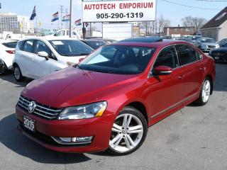 Used 2015 Volkswagen Passat Highline 1.8 TSI Navigation/Camera/Sunroof/Leather for sale in Mississauga, ON