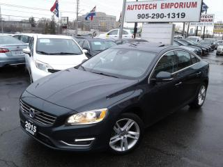 Used 2015 Volvo S60 T5 Drive-E Sunroof/Heated Seats/All Power&GPS* for sale in Mississauga, ON