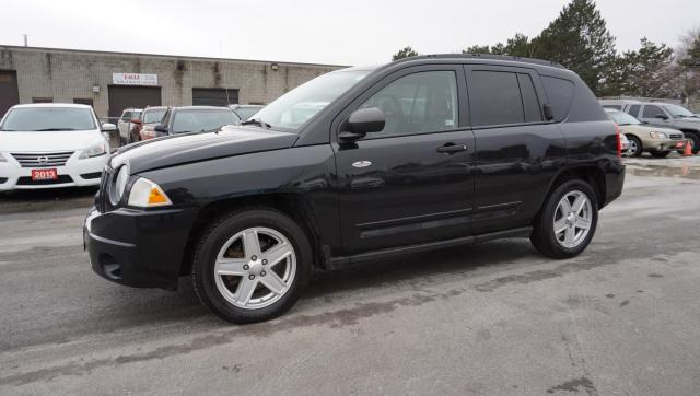 2008 Jeep Compass SPORT AUTO CERTIFIED 2YR WARRANTY ALLOYS CRUISE AUX