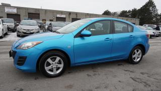 Used 2010 Mazda MAZDA3 SPORT SEDAN 5SPD CERTIFIED 2YR WARRANTY ALLOYS *2ND SET OF TIRES ON RIMS* for sale in Milton, ON