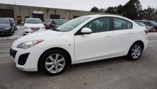Used 2010 Mazda MAZDA3 GS SPORT SEDAN AUTO CERTIFIED 2YR WARRANTY SUNROOF BLUETOOTH for sale in Milton, ON