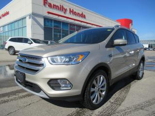 Used 2017 Ford Escape Titanium for sale in Brampton, ON