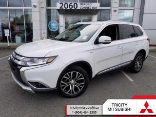 Used 2017 Mitsubishi Outlander GT  - Leather Seats for sale in Port Coquitlam, BC