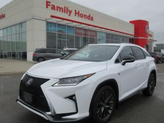 Used 2017 Lexus RX 350 RED LEATHER! for sale in Brampton, ON