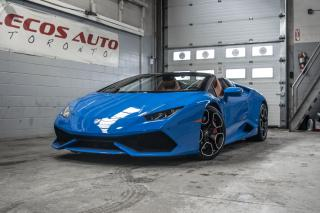 Used 2016 Lamborghini Huracan LP610-4 Spyder for sale in North York, ON