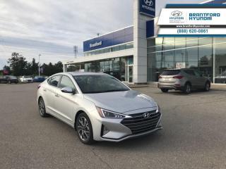 Used 2019 Hyundai Elantra Sport MT  - Sunroof -  Leather Seats - $133 B/W for sale in Brantford, ON