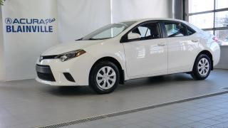 Used 2015 Toyota Corolla CE for sale in Blainville, QC