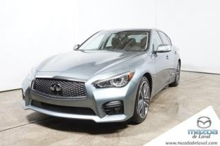 Used 2014 Infiniti Q50 Premium Awd Cuir Gps for sale in Laval, QC