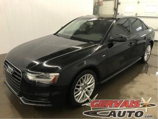Used 2015 Audi A4 Komfort S Line for sale in Trois-Rivières, QC