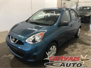 Used 2015 Nissan Micra S Petit Prix for sale in Shawinigan, QC