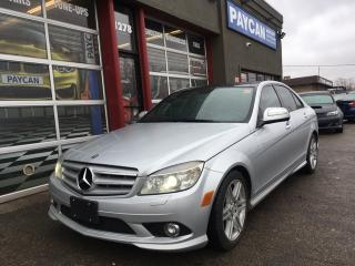 Used 2008 Mercedes-Benz C-Class 3.5L for sale in Kitchener, ON