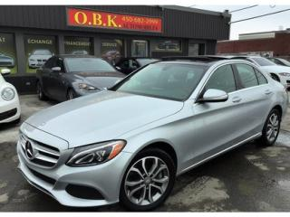 Used 2015 Mercedes-Benz C-Class C300-Awd-Toit Pano for sale in Laval, QC
