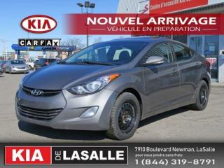 Used 2011 Hyundai Elantra Ltd Camera Toit for sale in Montréal, QC