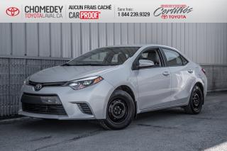Used 2016 Toyota Corolla LE for sale in Laval, QC