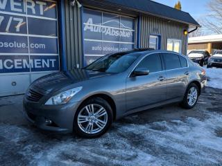 Used 2011 Infiniti G37 Luxury + Navi for sale in Boisbriand, QC