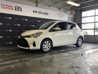 Used 2015 Toyota Yaris #LE HB - Auto - A/C - Gr. élect. - Cruis for sale in Trois-Rivières, QC