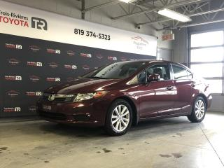 Used 2012 Honda Civic EX - Auto - Toit - Mags - Cruise for sale in Trois-Rivières, QC