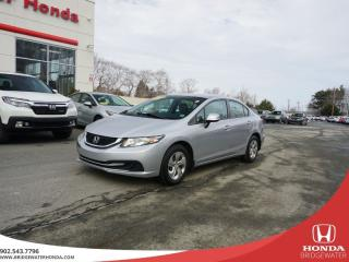 Used 2013 Honda Civic LX - Manual - GREAT PRICE for sale in Bridgewater, NS