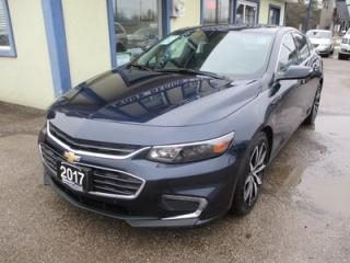 Used 2017 Chevrolet Malibu LOADED 1-LT MODEL 5 PASSENGER 1.5L - ECO-TEC.. LEATHER.. HEATED SEATS.. NAVIGATION.. BOSE AUDIO.. SUNROOF.. BACK-UP CAMERA.. WI-FI.. for sale in Bradford, ON