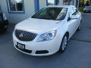 Used 2016 Buick Verano POWER EQUIPPED CX MODEL 5 PASSENGER 2.4L - ECO-TEC.. TOUCH SCREEN.. BACK-UP CAMERA.. CD/AUX/USB INPUT.. BLUETOOTH SYSTEM.. for sale in Bradford, ON