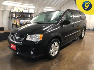 Used 2017 Dodge Grand Caravan Crew Plus *  Navigation * Overhead DVD player * Leather interior * Power sliding doors/lift-gate/mid row windows/rear vents * Reverse camera  * Dual C for sale in Cambridge, ON