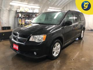 Used 2018 Dodge Grand Caravan Crew Plus * Navigation *  Leather interior * Reverse camera  * Power sliding doors/tailgate/mid row windows/rear vents * Keyless entry * Heated steeri for sale in Cambridge, ON