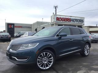 Used 2016 Lincoln MKX 2.7 AWD - NAVI - PANO ROOF - REVERSE CAM for sale in Oakville, ON