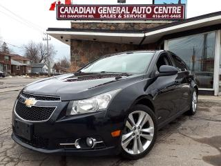Used 2013 Chevrolet Cruze LT Turbo RS PACKAGE for sale in Scarborough, ON