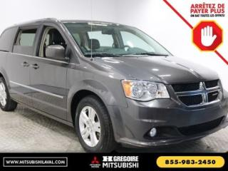 Used 2016 Dodge Grand Caravan CREW PLUS BLUETOOTH for sale in Laval, QC