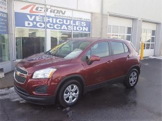Used 2015 Chevrolet Trax Ls,a/c,bluetooth,cli for sale in St-Hubert, QC