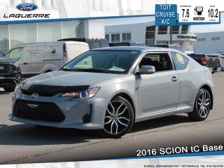 Used 2016 Scion tC Base Toit Cruise A/c for sale in Victoriaville, QC