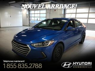 Used 2017 Hyundai Elantra GL + GARANTIE + MAGS + CAMÉRA + BLUTOOTH for sale in Drummondville, QC